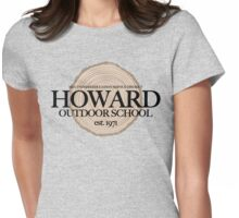 Howard Outdoor School (fcb) Womens Fitted T-Shirt