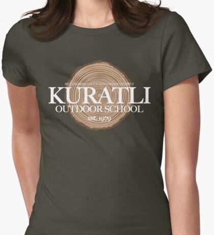 Kuratli Outdoor School (fcw) Womens Fitted T-Shirt