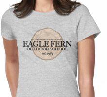Eagle Fern Outdoor School (fcb) Womens Fitted T-Shirt