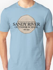 Sandy River Outdoor School (fcb) Unisex T-Shirt