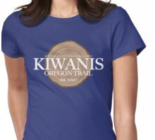 Kiwanis Oregon Trail (fcw) Womens Fitted T-Shirt