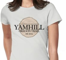 Yamhill Oregon Trail (fcb) Womens Fitted T-Shirt