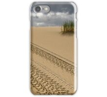 Tracks in Sand iPhone Case/Skin