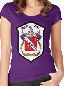 Howard Coat of Arms Women's Fitted Scoop T-Shirt