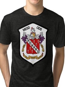 Howard Coat of Arms Tri-blend T-Shirt