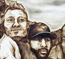 Blue Jays Mount Crushmore Sticker