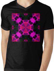 Digital Lily Mens V-Neck T-Shirt