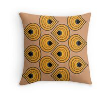 African Inspired Throw Pillow