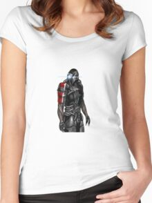 Legion - Mass Effect Women's Fitted Scoop T-Shirt