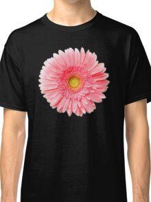 Flower Power, Pink Fresh Gerbera Classic T-Shirt
