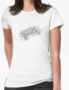 Triumph TR5 Womens Fitted T-Shirt
