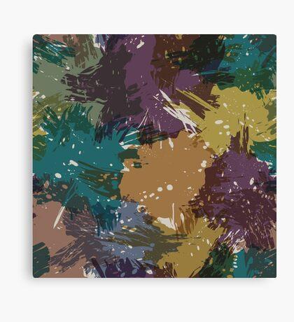Grunge pattern Canvas Print