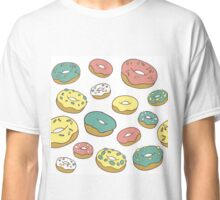 Pattern with donuts Classic T-Shirt