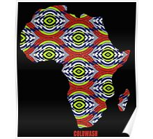 AFRICA PRINTED Poster