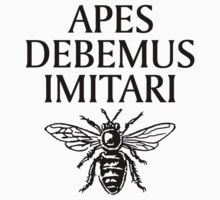 Apes Debemus Imitari Kids Tee