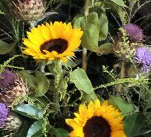Grateful Flora Sticker