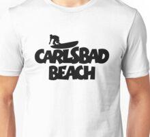 Carlsbad Beach Surfing Unisex T-Shirt