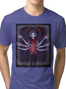 Undertale Miss Muffet Tri-blend T-Shirt