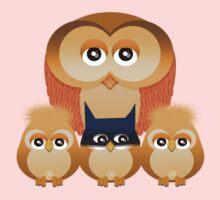 THE OWL FAMILY One Piece - Short Sleeve