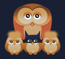 THE OWL FAMILY Baby Tee