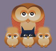 THE OWL FAMILY Kids Tee
