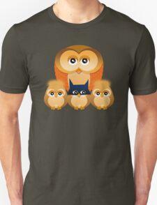 THE OWL FAMILY Unisex T-Shirt