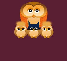 THE OWL FAMILY Womens T-Shirt