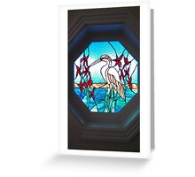 Glass Art Greeting Card