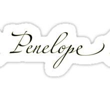 Penelope Sticker