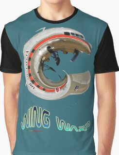 Douglas Dakota VH-TMQ Wing Warp T-shirt Design Graphic T-Shirt