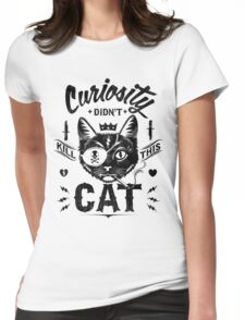 cats funny Womens Fitted T-Shirt