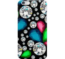 Amazing template design on diamonds background.  iPhone Case/Skin