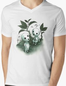 Natural History - Forest Spirit studies Mens V-Neck T-Shirt