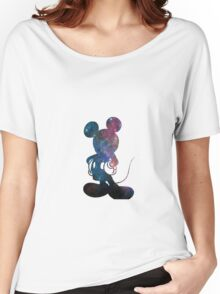Galaxy mickey  Women's Relaxed Fit T-Shirt