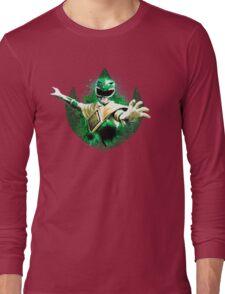 Green Ranger Splatter Long Sleeve T-Shirt