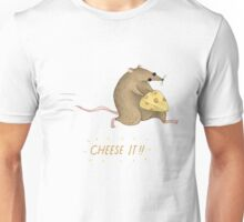 Cheese It!! Unisex T-Shirt
