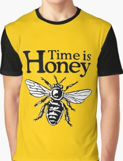 Time Is Honey Beekeeper Quote Design Graphic T-Shirt