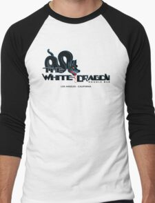 White Dragon - Noodle Bar Black Variant Men's Baseball ¾ T-Shirt