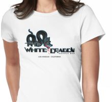 White Dragon - Noodle Bar Black Variant Womens Fitted T-Shirt