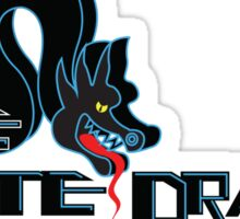 White Dragon - Noodle Bar Black Variant Sticker