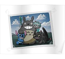 Smiling friends Poster