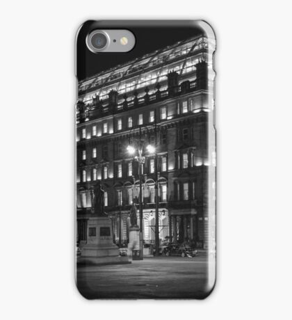 Night in the Glasgow city iPhone Case/Skin