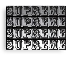 supreme Canvas Print