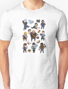 Team Fortress 2 / BLU All Class T-Shirt