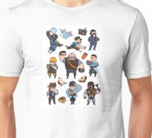 Team Fortress 2 / BLU All Class Unisex T-Shirt