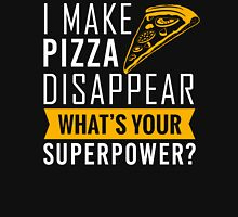 Pizza disappear Womens Fitted T-Shirt