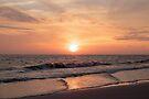 Sunset at the Beach by William C. Gladish