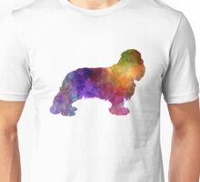 Cavalier King Charles Spaniel in watercolor Unisex T-Shirt