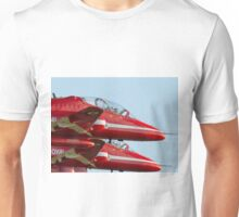 Red Arrows - close formation Unisex T-Shirt