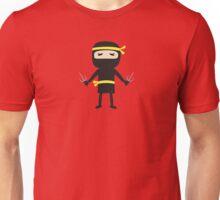 ninja with weapon Unisex T-Shirt